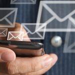 e-mail no celular