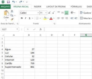 Transformar Números Positivos em Números Negativos no Excel-1