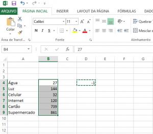 Transformar Números Positivos em Números Negativos no Excel-4