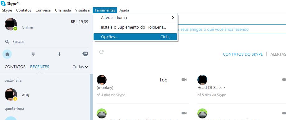 1-Como Desabilitar as Notificações do Skype