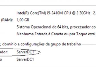 Windows PowerShell: Alterando nome do Servidor