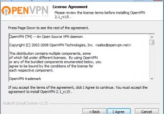 Manual de instalação – OpenVPN