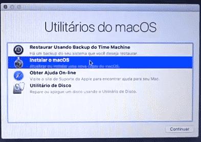 Utilitários do macOS
