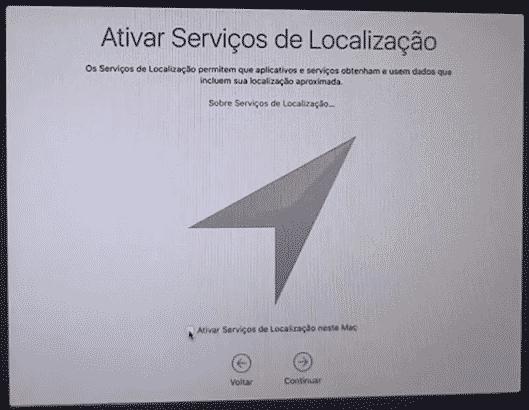 Serviço de localização